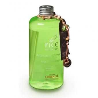 rice collection Aromatic Shower Gel Rice + Lemongrass