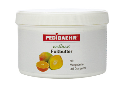Pedibaehr wellness Fußbutter 450ml