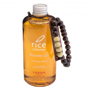 rice collection Shower Gel Aromatic Wood