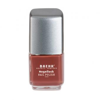 Baehr Beauty Concept Nagellack velvet brown
