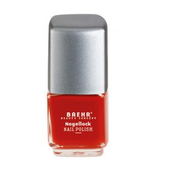 Baehr Beauty Concept Nagellack sunglow red