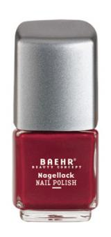 Baehr Beauty Concept Nagellack cardinal red pearl