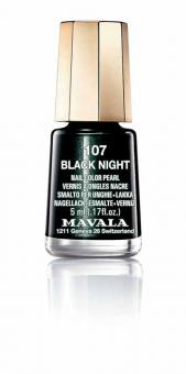 Mavala Nagellack Black Night 107