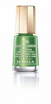 Mavala Nagellack Electric Green 126