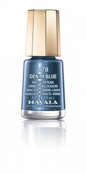Mavala Nagellack Denim Blue 178