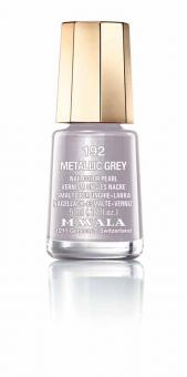 Mavala Nagellack Metallic Grey 192