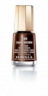 Mavala Nagellack Dark Brown 249