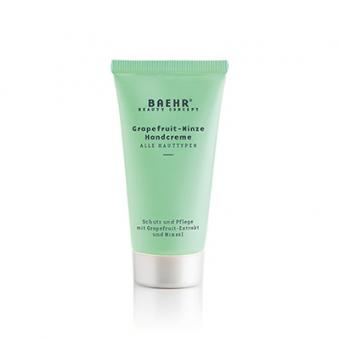 Baehr Beauty Concept Grapefruit-Minze Handcreme