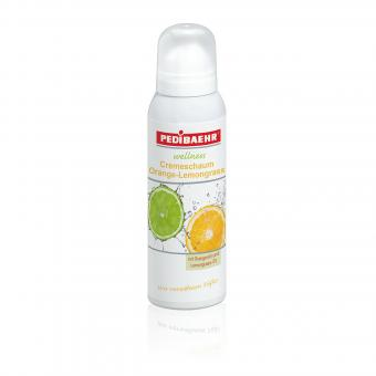 Pedibaehr Cremeschaum Orange-Lemongrass 125 ml