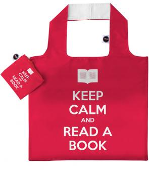 #ANYBAG Keep calm and read a book