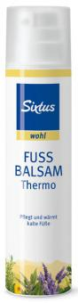 Sixtus wohl Fussbalsam Thermo 30ml